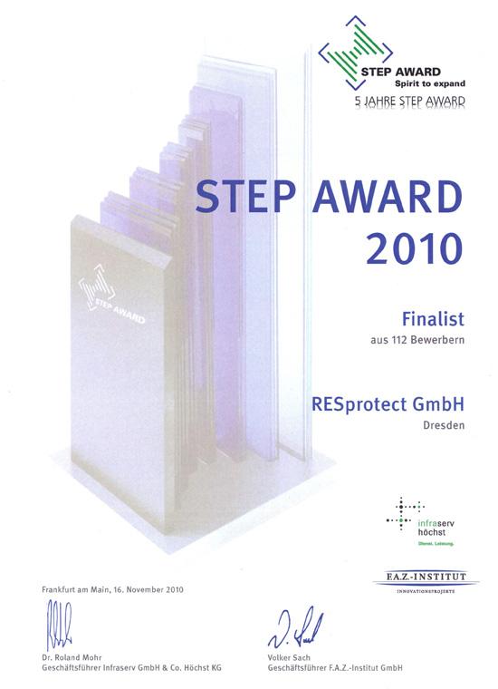 STEP Award 2010
